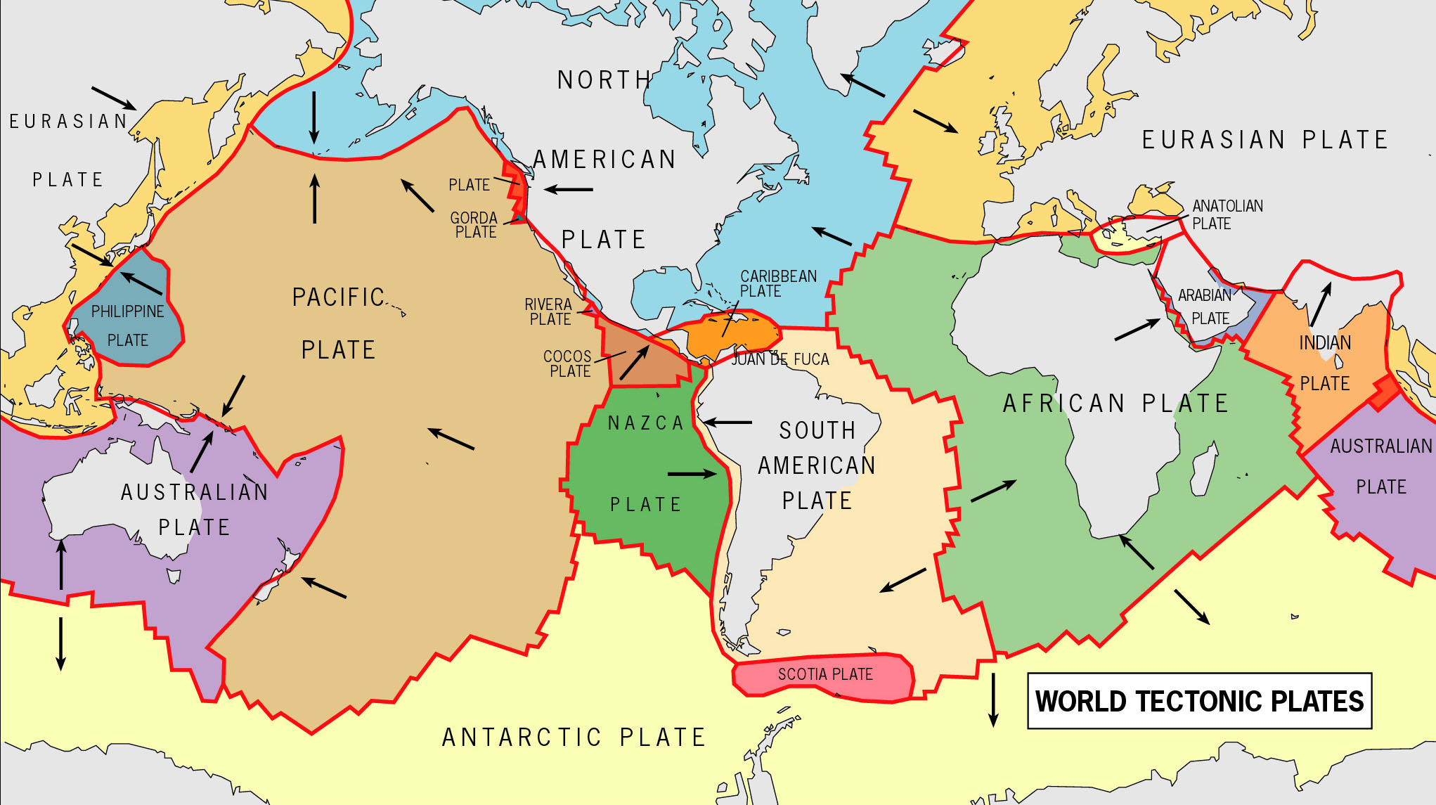 Plate tectonics - Geography from KS3 to IB